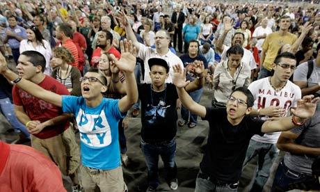 Rick Perry prayer meeting