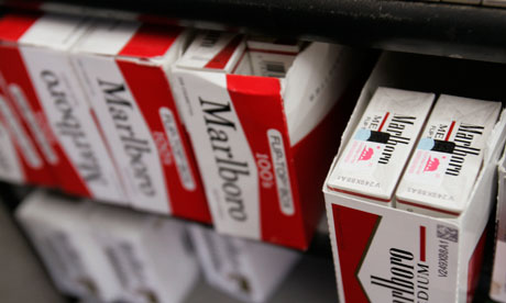 Cigarettes made in Europe