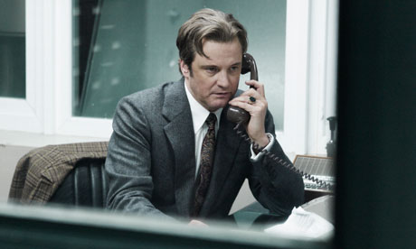 Colin Firth as Bill Haydon in Tinker, Tailor, Soldier, Spy.