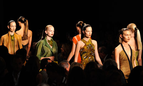 Donna Karan Spring/Summer 2012 during New York Fashion Week