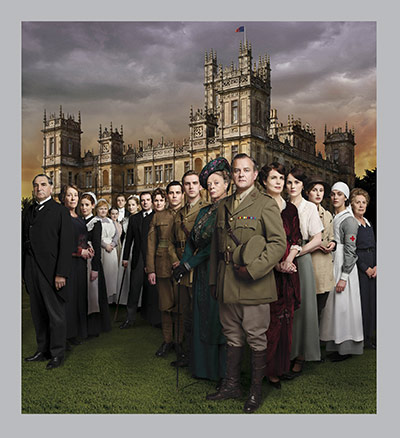 Downton Abbey series 2: The cast of Downton Abbey