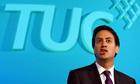 Ed Miliband TUC conference