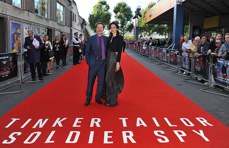 Tinker tailor UK premiere: Tinker, Tailor, Soldier, Spy - UK Premiere