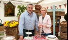 Paul Hollywood and Mary Berry, judges on The Great British Bake Off.