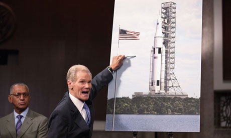 Bill Nelson at the Nasa launch