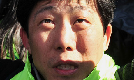 Park Sang-hak said South Korean authorities told him Ahn planned to jab him with a poisoned needle
