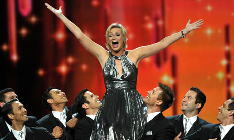 Jane Lynch at the 2011 Emmy awards