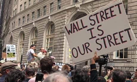 Occupy Wall Street Anti-Bank Protest