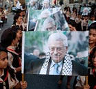 Mahmoud Abbas posters in Beit Sahur
