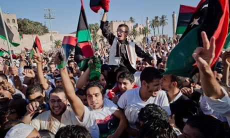 ***BESTPIX*** Libyan Rebels Sieze Control Of Tripoli From Gaddafi Forces