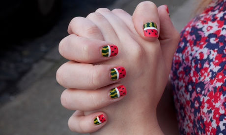 ... the Guardian. Nails by Sophie Harris-Greenslade/ The Illustrated Nail