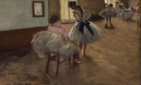 Edgar Degas: The Dance Lesson