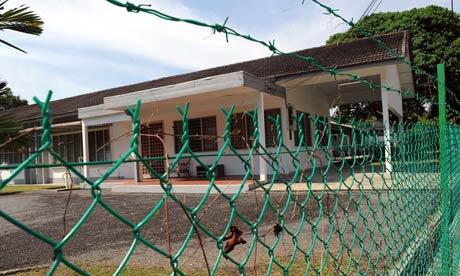 Malaysia asylum seekers building