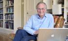 Richard Dawkins at his home