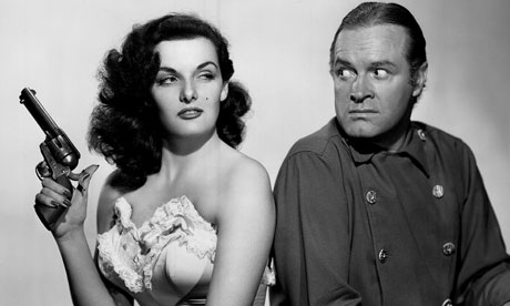 Bob Hope with Jane Russell in the spoof western The Paleface