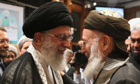 Ali Khamenei, Burhanuddin Rabbani