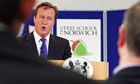 Cameron visits The Free School, Norwich 9/9/11