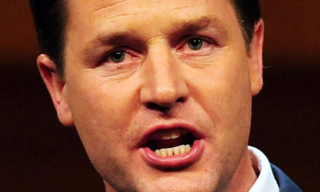 Nick Clegg admitted more needed to be done to get money given out