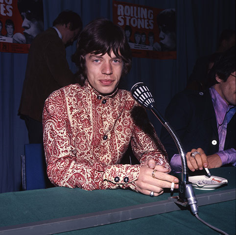 Paisley gallery: Rolling Stones