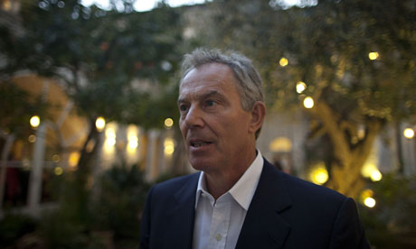 Tony Blair in Jerusalem