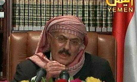 Ali Abdullah Saleh on television