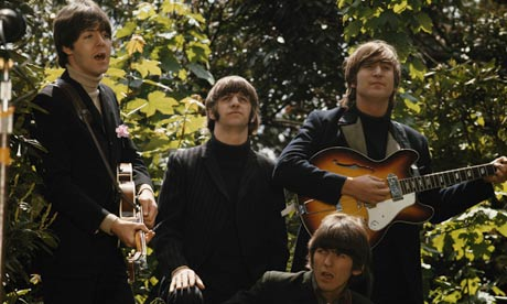 Beatles In Shrubbery
