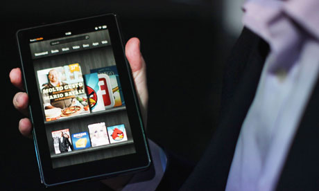 Amazon introduces the Kindle Fire