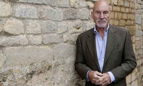 Patrick Stewart, who plays Ramond Chandler in Strangers on a Film.