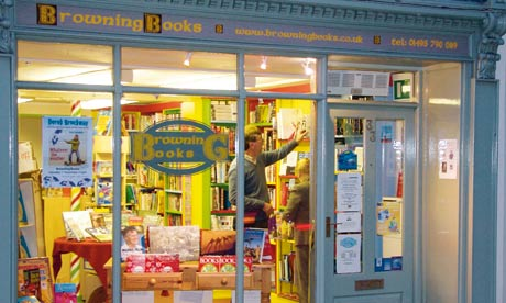 Wales: Browning Books Book Town Blaenavon