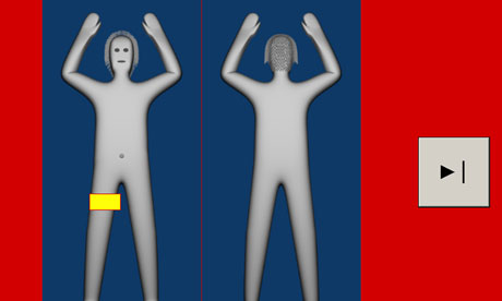 New aiport bodyscanners