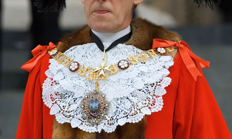 Lord Mayor's Chain of Office, UK