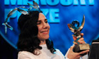 PJ Harvey wins Mercury music prize for the second time