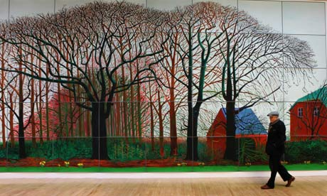 David Hockney in 2009