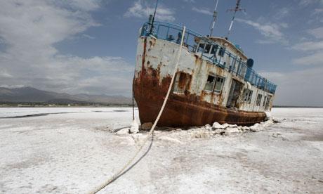 Iran Lake Orumieh