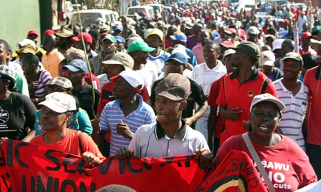 MDG : Protest in Swaziland