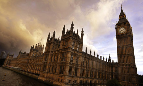 Houses of Parliament at twighlight
