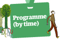 Guardian Open Weekend: Programme by time
