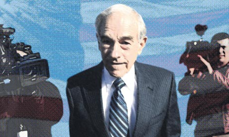 Ron Paul photomontage