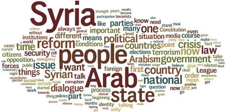 wordle-assad-speech