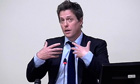 Hugh Grant giving evidence to the Leveson inquiry in November