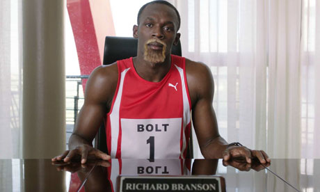 Usain Bolt Virgin's New Brand Ambassador