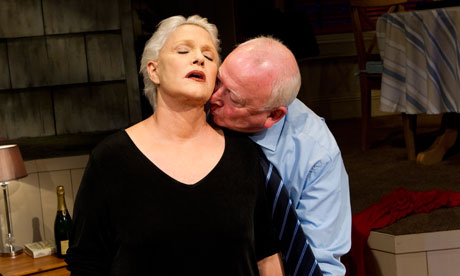 Sharon Gless and Barry McCarthy in A Round-Heeled Woman. Photograph: Tristram Kenton for the Guardian