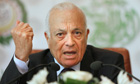 Arab League secretary general, Nabil al-Arabi
