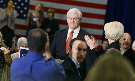 Newt Gingrich South Carolina