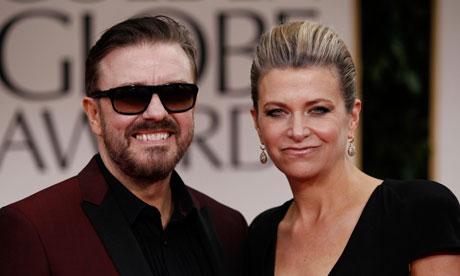 Ricky Gervais & Jane Fallon  | Unmarried Couples Legal Rights | The Family Law Company By Hartnell Chanot Exeter Plymouth