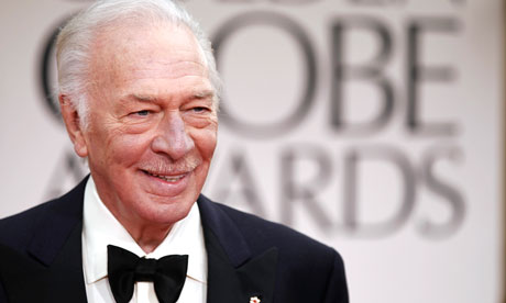 Christopher Plummer at the Golden Globes