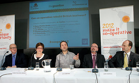 Panel discussion for launch of Internation Year of Co-operatives