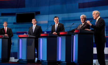 Republican presidential candidates debate in Myrtle Beach