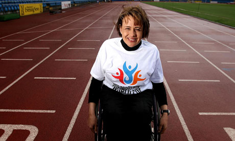 Dame  - now Lady - Tanni Grey-Thompson in 2007.