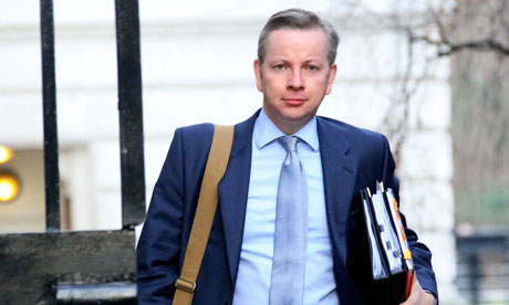 Michael Gove arriving for a cabinet meeting